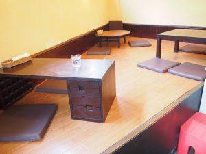 Table Seat of Nagi Shokudo