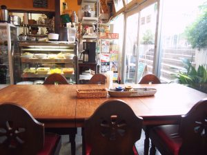 Table Seat of Menu of Nagi Shokudo
