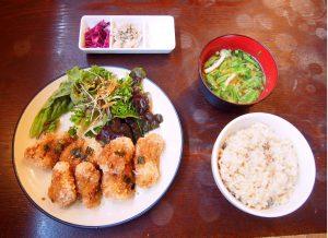 Nagi Set Plate A (Soy Meat Set Plate)