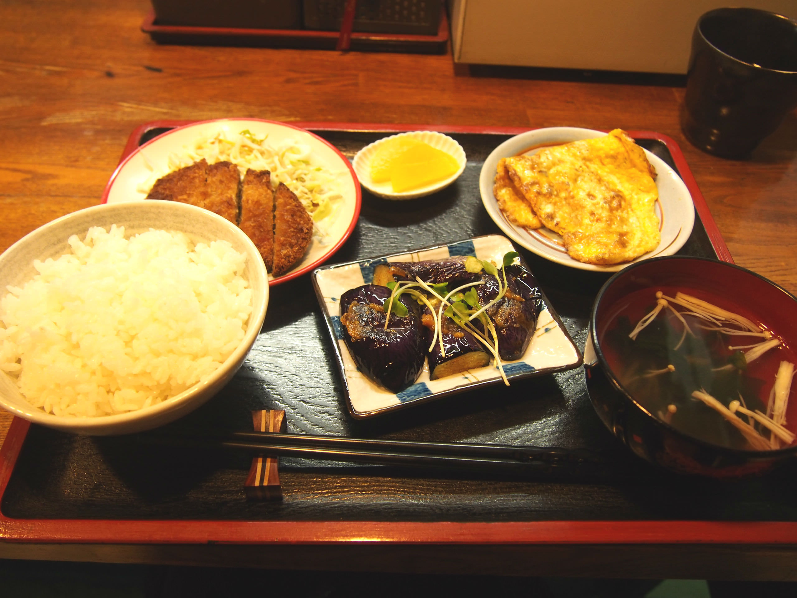 Shojin Set Menu
