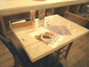 Tabel Seats of AIN SOPH .soar Ikebukuro