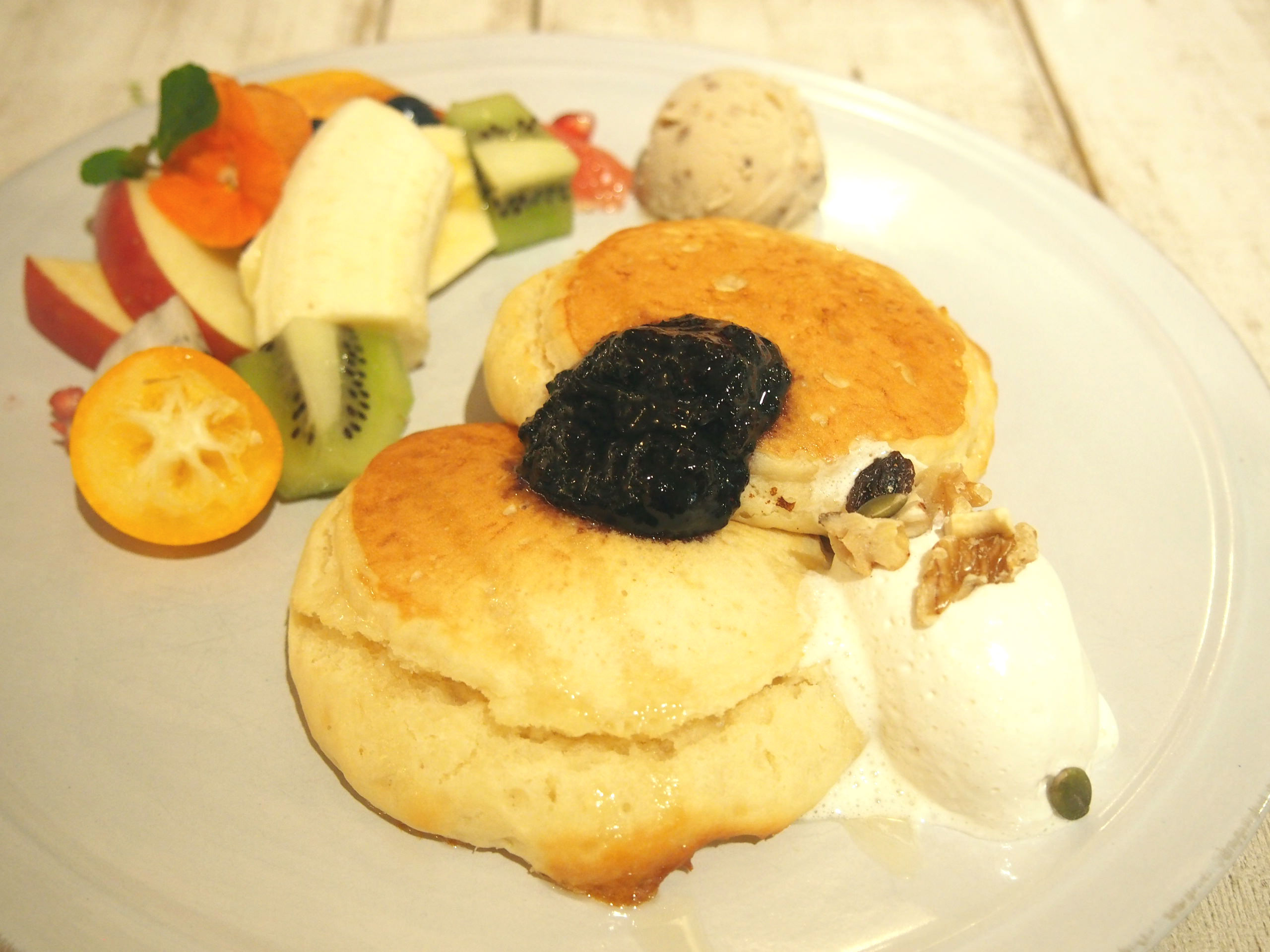 Heavenly Vegan Pancake of AIN SOPH.Soar IKEBUKURO