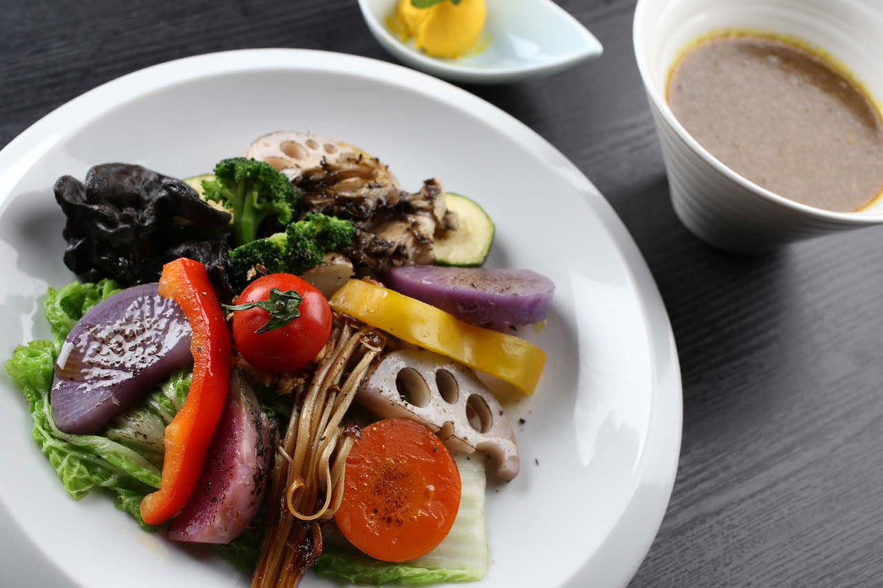 Vegetable Curry of LONGING HOUSE YASAI ga Oishii Cafe Jingu mae