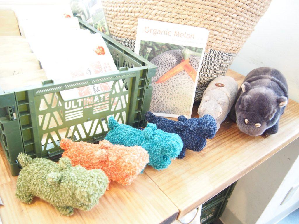 Plush Dolls of Hippopotamus