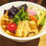 T's vegan ramen soy sauce