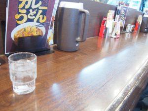 Counter Table of CoCo Ichibanya