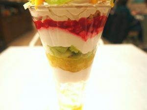 Fruits Fruits (Vegan Parfait)