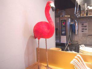 Statute of Flamingo
