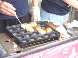 Veggie Takoyaki