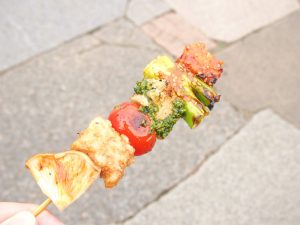 Vegetable Skewer of NURTI VEGESTAND