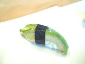 Vegan Sushi of Avocado