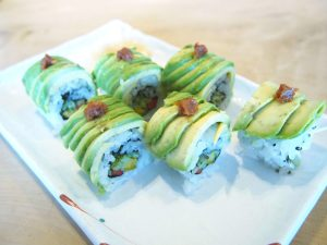 Special Vegetable Roll (Avocado Roll)