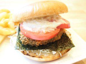 Taru Taru (Tartar sauce) Wasabi Burger