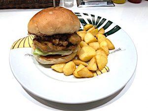 Isseki Sancho Terimayo Chunk Burger