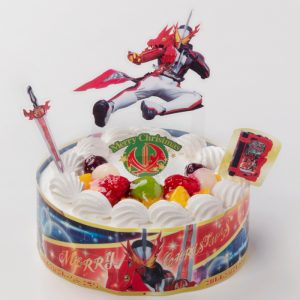 Chara Deco Christmas Masked Rider Saber (Takaki Healthcare Foods)