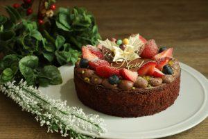 Kayama Farm Strawberry Choco Cake (CHAYA Macrobiotics)