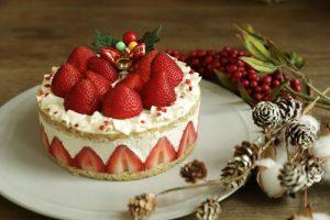 Kayama Farm Strawberry Cake (CHAYA Macrobiotics)