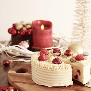 Christmas Cake of Rice Flour and Strawberry (BIOKURA)